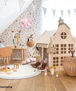 houten speelhuisje type klokgevel Sassefras