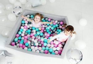 vierkant ballenbad