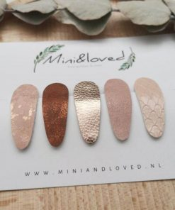 mini and loved klik klak knipjes Sassefras