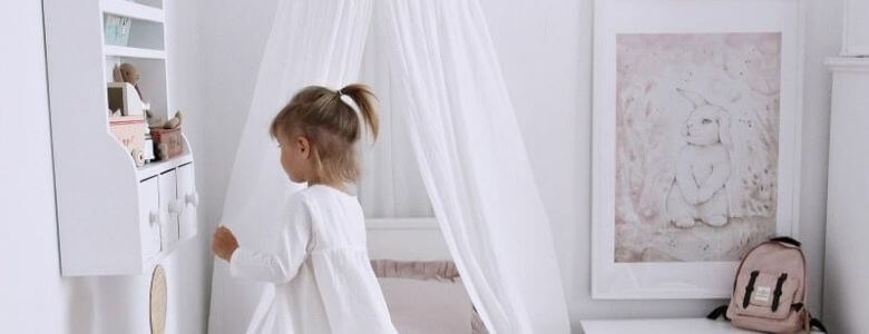 bed hemeltje voor de babykamer of kinderkamer header categorie Sassefras