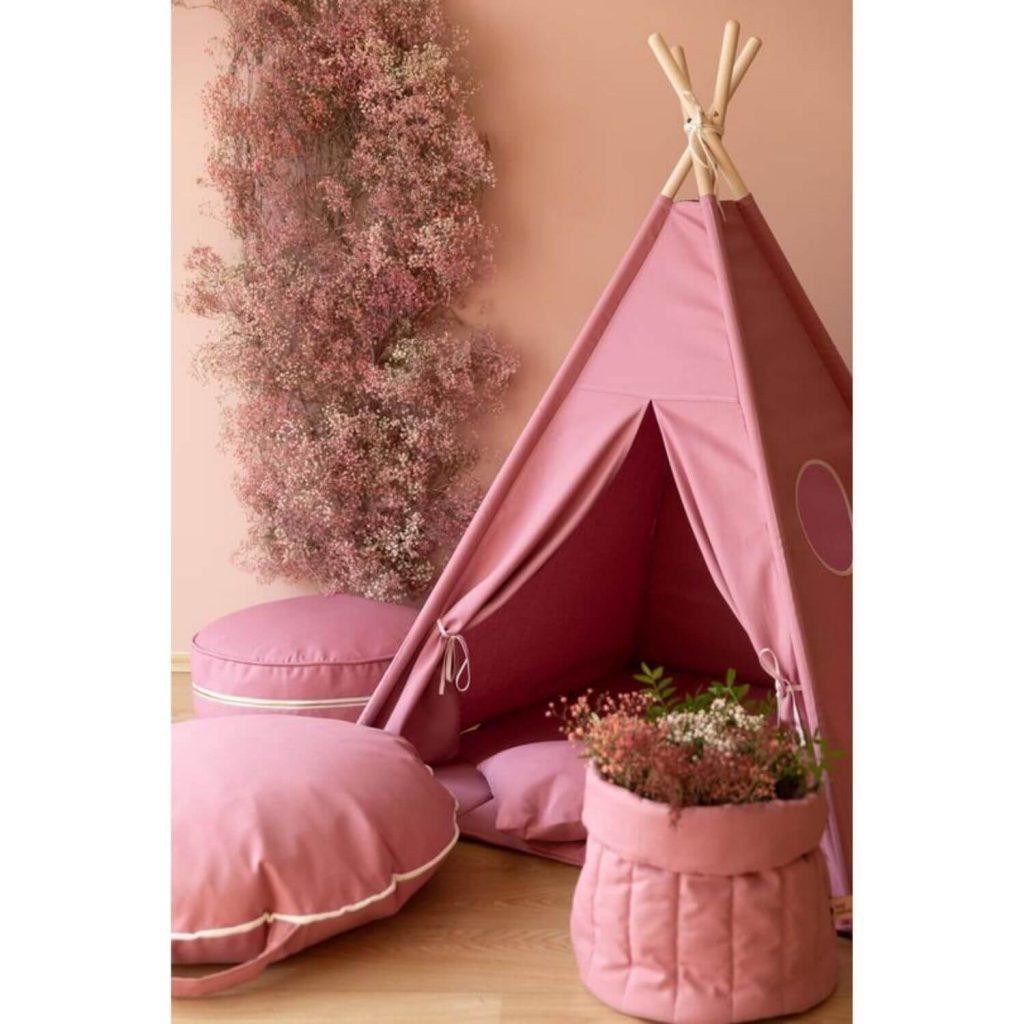 blush roze tipi speeltent