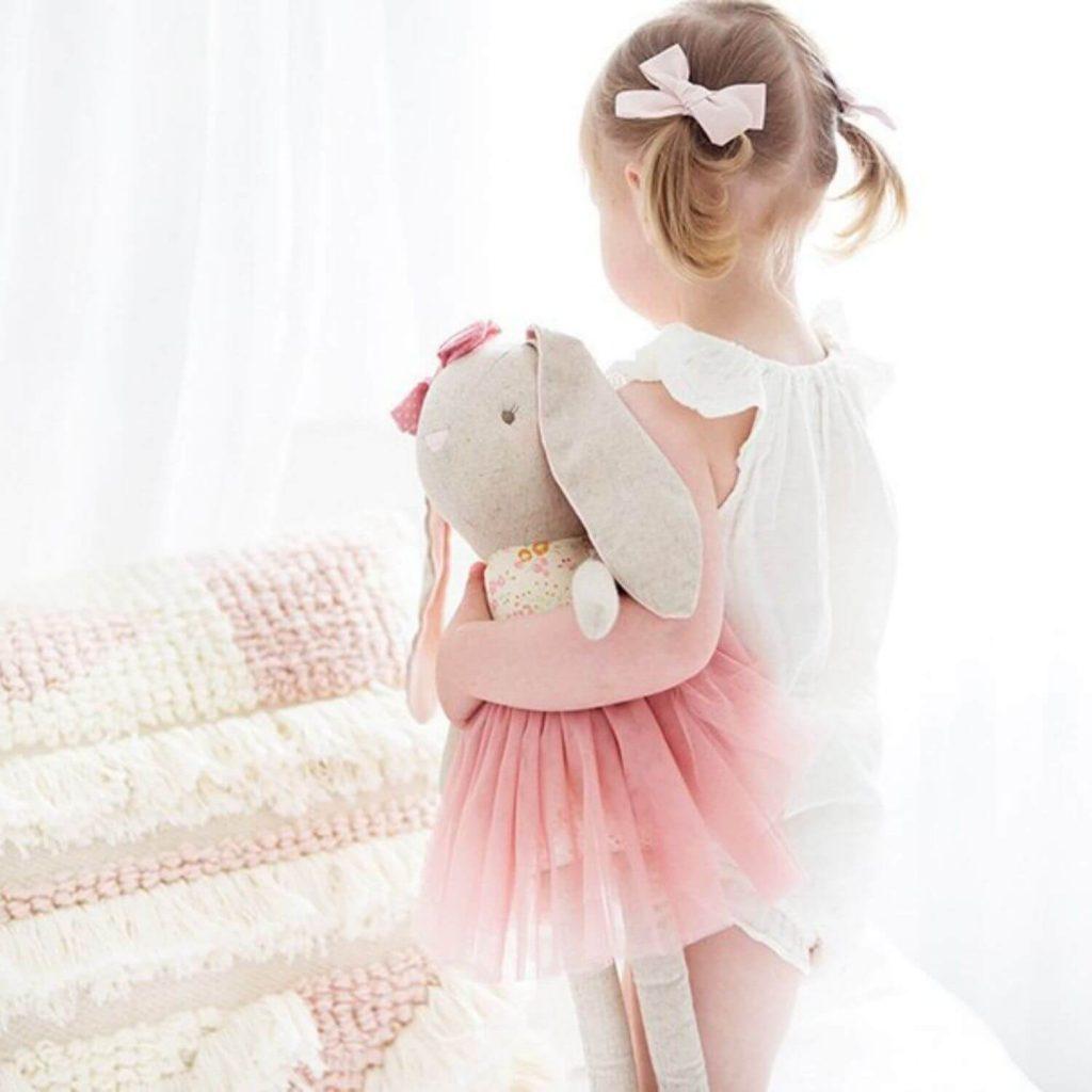 Alimrose Pearl Bunny Pop 55cm Sassefras