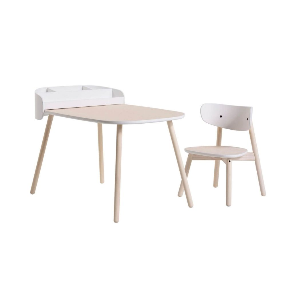 kukuu kindertafel en stoel en toolbox Sassefras