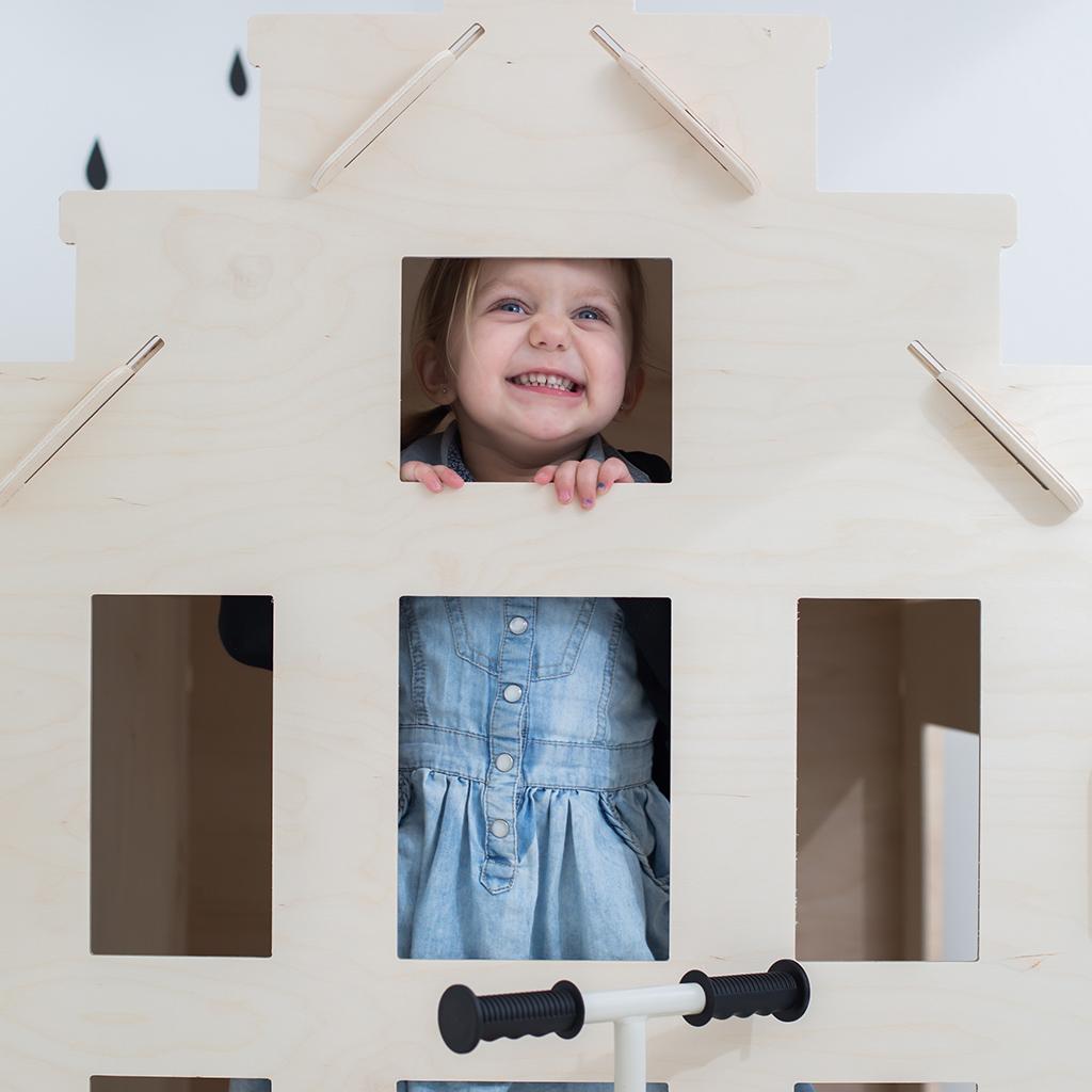houten speelhuisjes Woonlief Sassefras