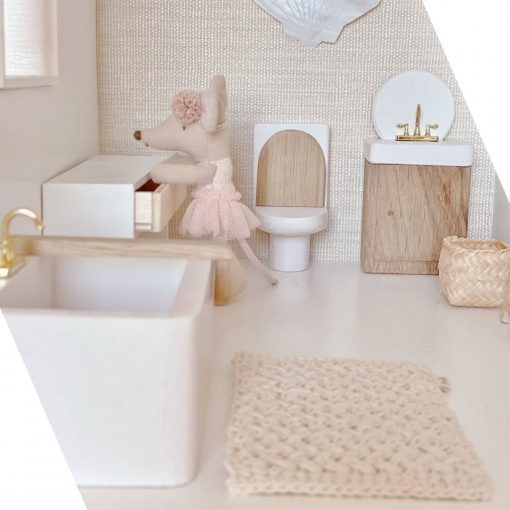 felou family houses poppenhuis toilet Sassefras