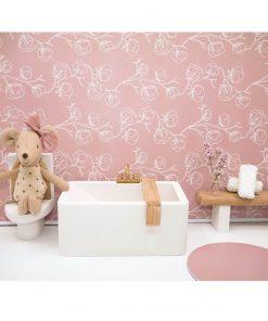 felou family houses wit houten badkuip voor poppenhuis Sassefras