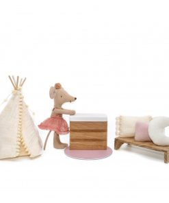 houten poppenhuis meubels felou family houses commode Sassefras