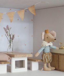 keukentje voor poppenhuis met muisje Sassefras