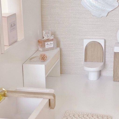 poppenhuis toilet Sassefras