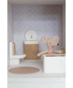 poppenhuis toilet wit Sassefras