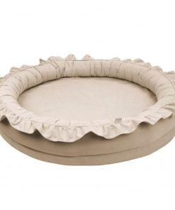 Cotton & Sweets junior nest dark beige Sassefras
