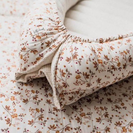 babynestje sweet floral details bloemen Sassefras
