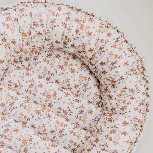 babynestje sweet florals voorkant Sassefras