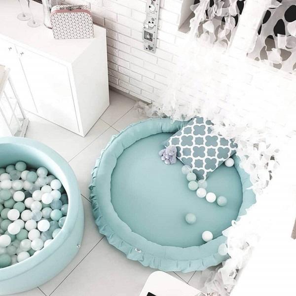 ballenbad schoonmaken