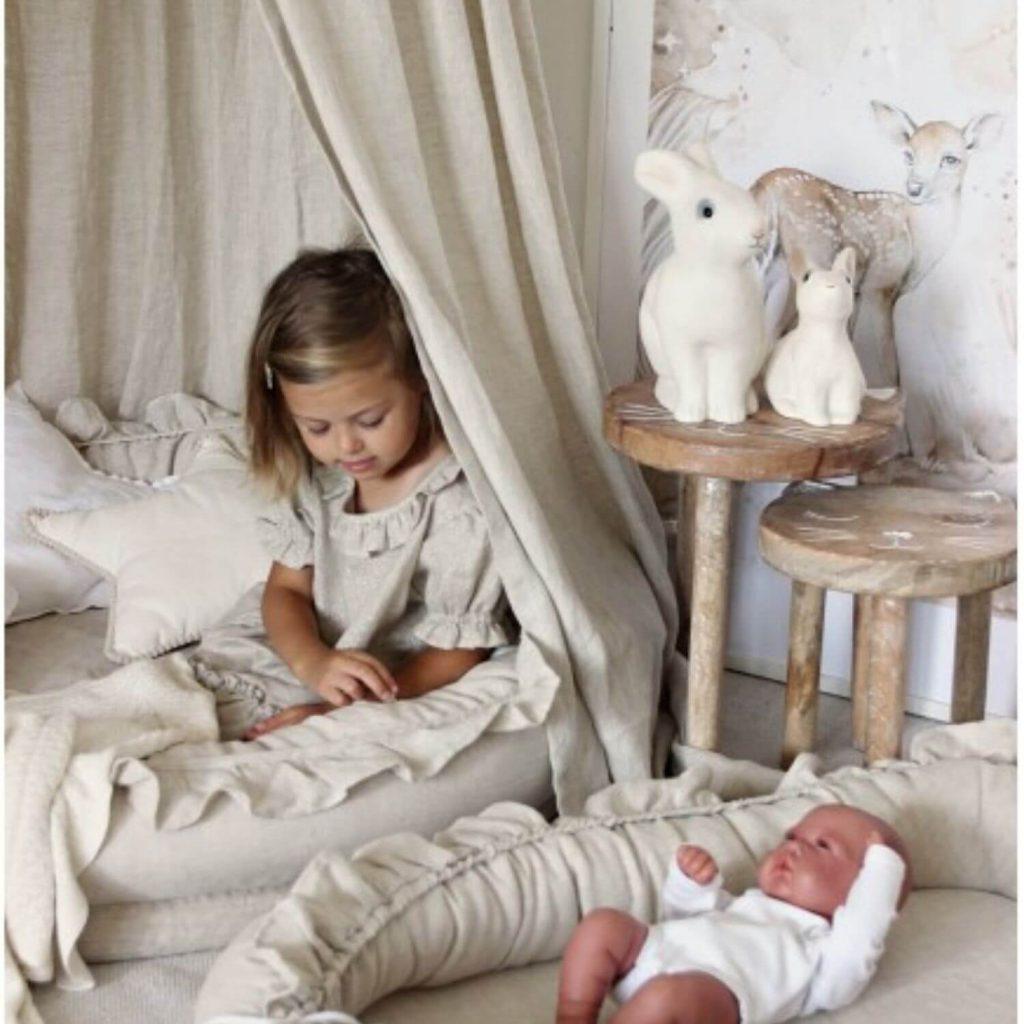 junior nest natural met babynest Sassefras