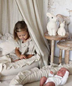 junior speelnest natural met babynest Sassefras