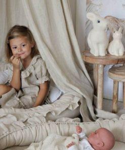 junior speelnest naturel met kind Sassefras