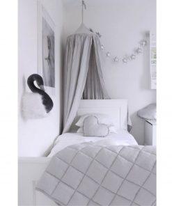 lichtgrijze klamboe van Cotton & Sweets sfeerfoto Sassefras
