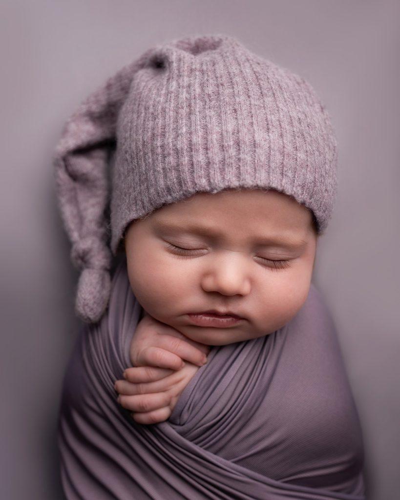De baby slaapt niet inbakeren