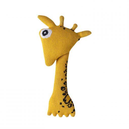 biologische baby knuffel giraffe Albert Sassefras