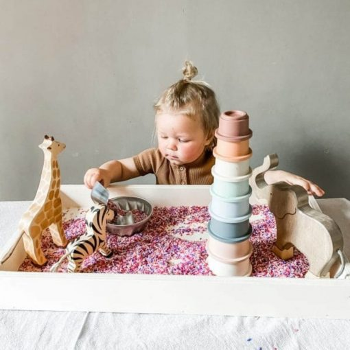 houten sensory speelbak Sassefras