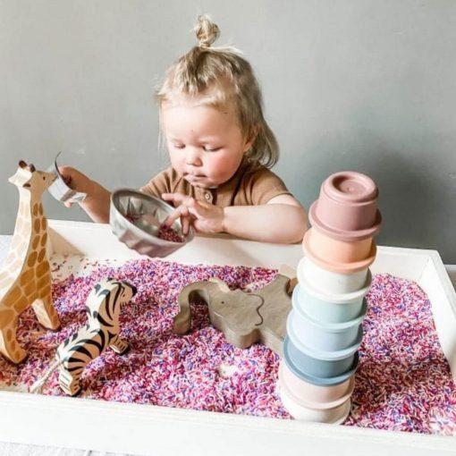 houten speelbak Sassefras