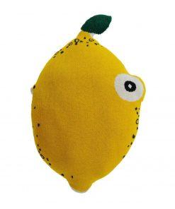 nordic lemon knuffelkussen citroen Sassefras